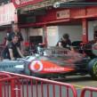 El volante de un Fórmula 1