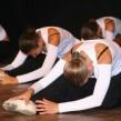 Petit retiré passé derrière en ballet