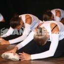 Elongación del torso en ballet