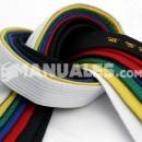 Escala de cinturones en Judo