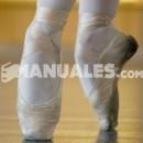La colocación del pie en ballet clásico