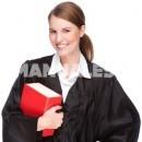 Por qué los abogados llevan toga en los juicios
