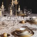Presidencia inglesa de la mesa en una celebración o evento