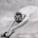 Quinta abierta, posición complementaria de brazos en ballet