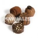 Receta de bombones de chocolate y avellanas