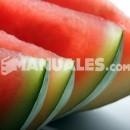Receta de polos bilorales de sandía y kiwi